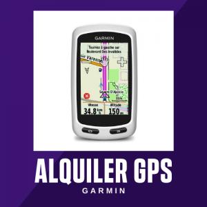 Alquiler GPS GARMIN